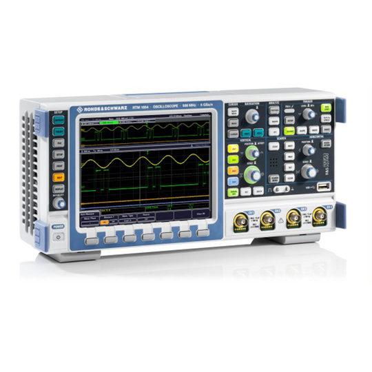 RTM 1000 Digital Oscilloscopes - Rohde & Schwarz Hameg side
