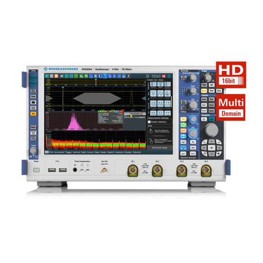RTO 2000 Digital Oscilloscope