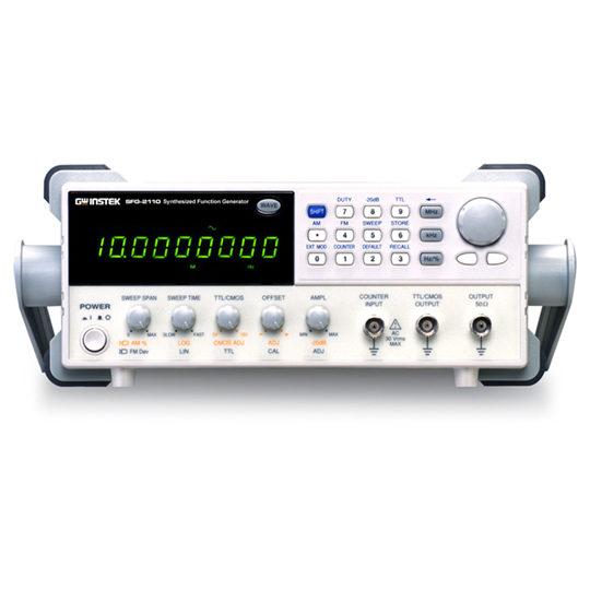 SFG-2100 & SFG-2000 - GW Instek front