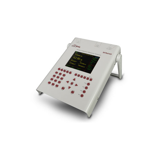 SFRA45 Sweep Frequency Response Analyzer - N4L side