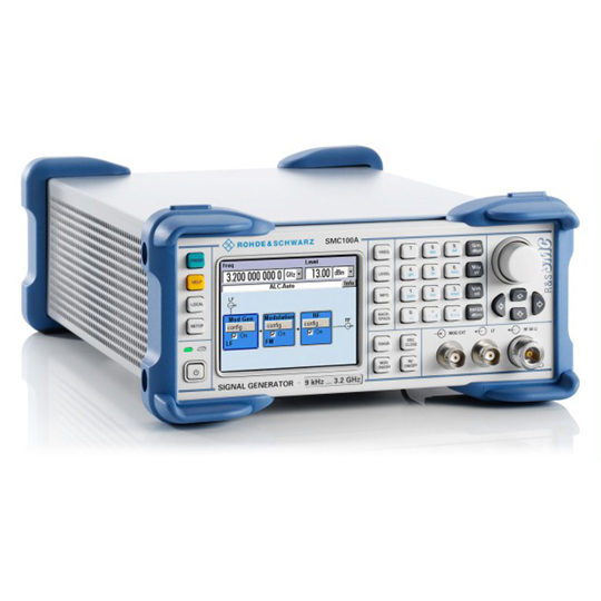 SMC100A - Rohde & Schwarz Hameg signal generator front 2