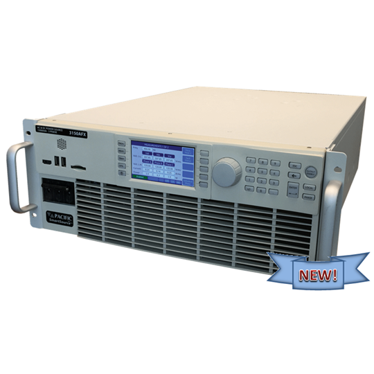 AFX Series 3150 High Power Density AC/DC Power Supply front panel