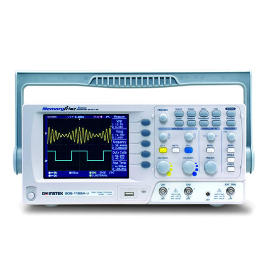 GDS-1000A-U Series - GW Instek Digital Storage Oscilloscope 3