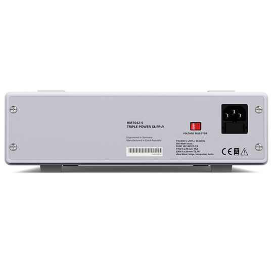 HM7042-5 - Rohde & Schwarz Hameg Triple Power Supply