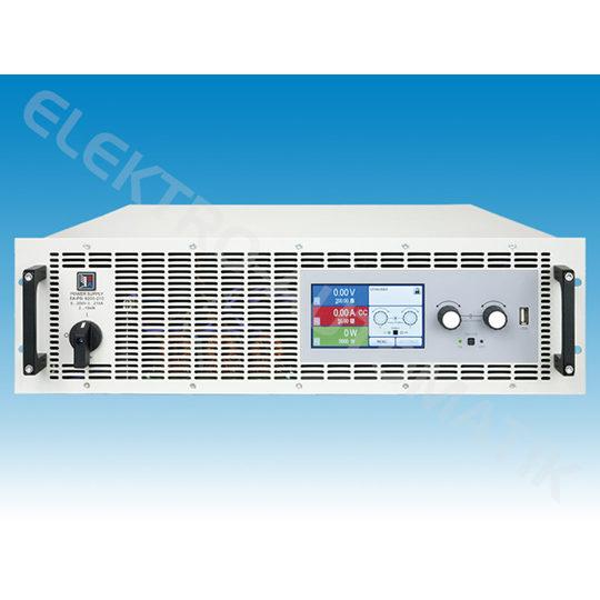 Front panel of psi9000 3u 1 DC Power Supply Elektro-Automatik