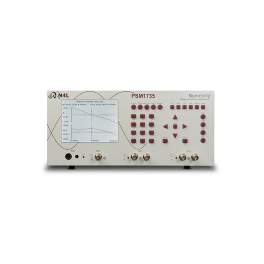 PSM1735 Frequency Response Analyser - N4L front