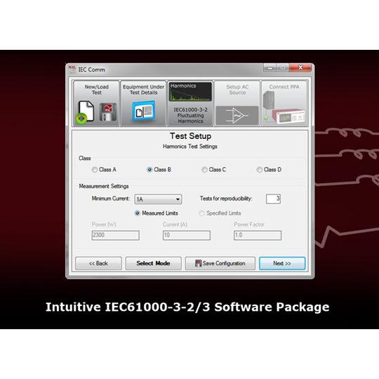 PPA55x1 IEC61000 - N4L Test Setup