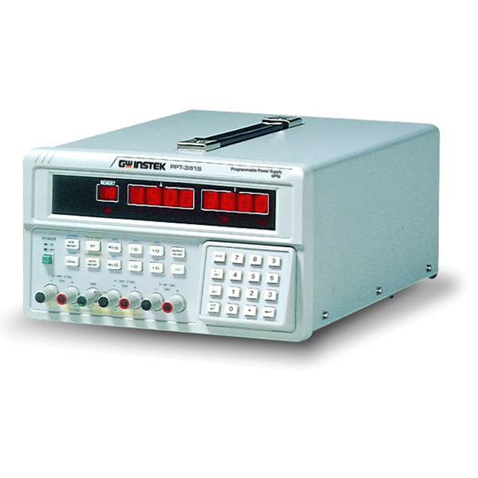 PPT Series 3-channel, programmable linear DC power supplies GW Instek