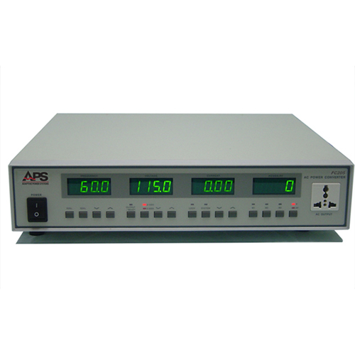 FC200 Series frequency converters and voltage converters.