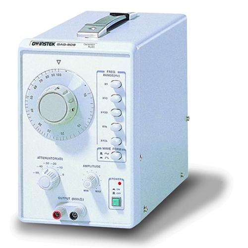Low frequency signal generator: GW Instek GAG809/810