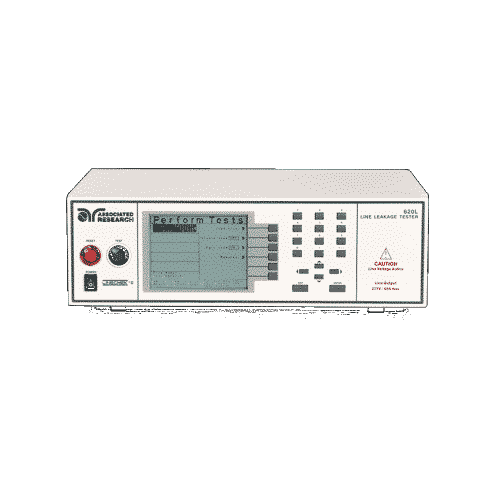 Associated Research LINECHEK II Series current leakage tester.