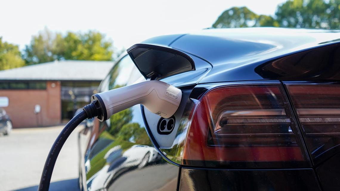 EV charging infrastructure.