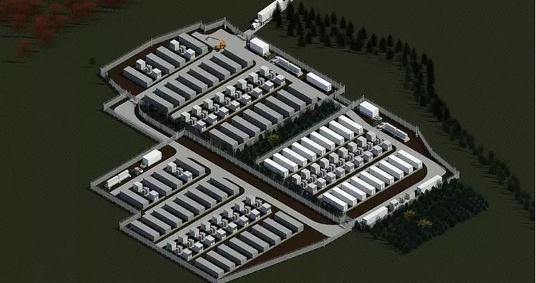 Mintey 150MW battery storage project.