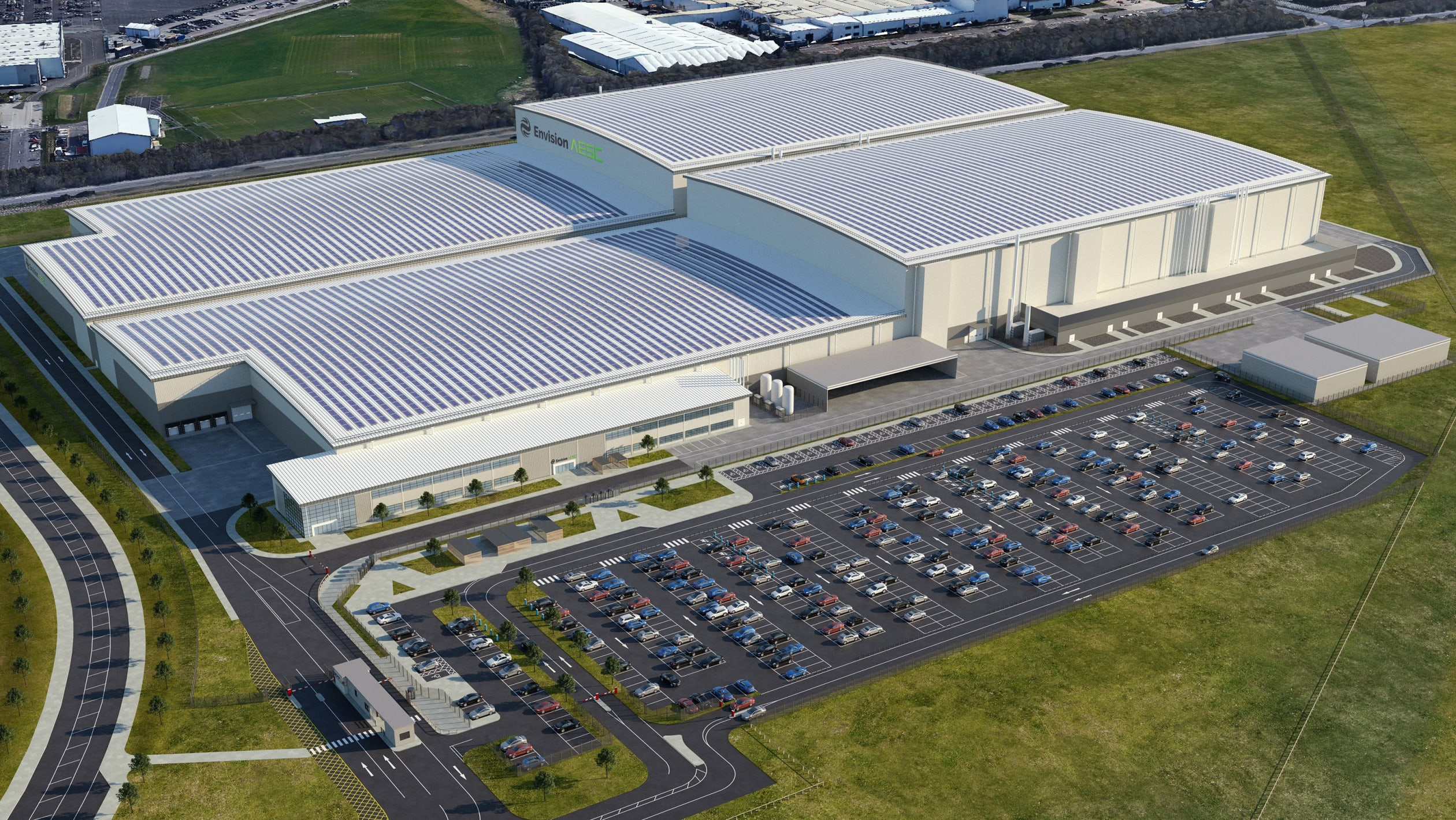 Nissan and Envision's EV36Zero hub