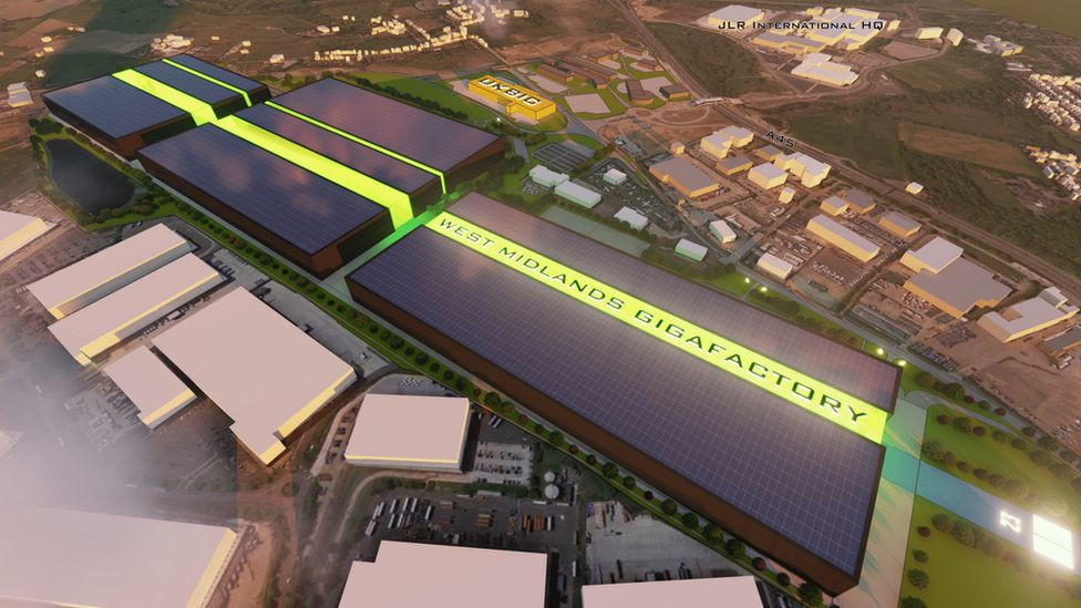 West Midlands Gigafactory - Electric Battery Gigafactory Plans Submitted for Coventry Airport.