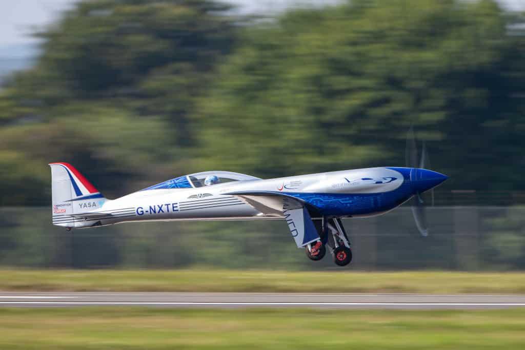 The Spirit of Innovation - Rolls-Royce electric aeroplane.